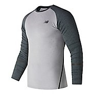 Mens New Balance Trinamic Top Short Sleeve Technical Tops