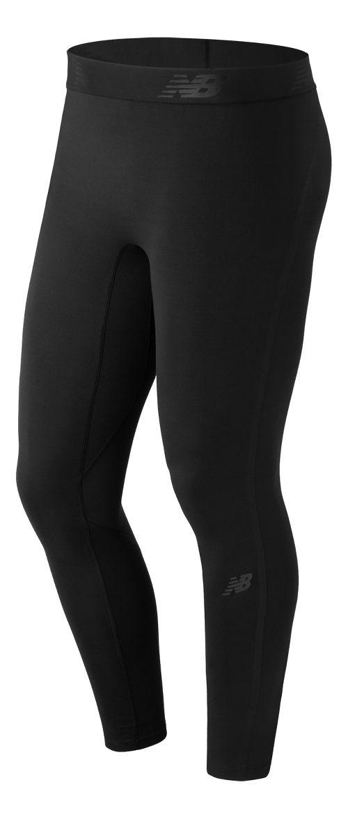 Mens New Balance Trinamic Tights & Leggings Pants - Black S