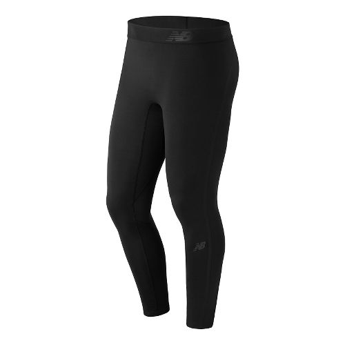 Mens New Balance Trinamic Tights & Leggings Pants - Black S