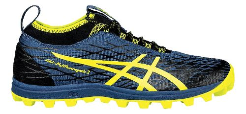 asics trail running shoes yellow