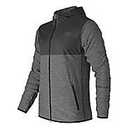 Mens New Balance N Transit Hoodie & Sweatshirts Technical Tops