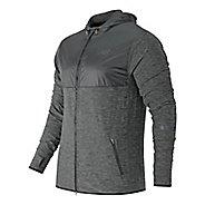 Mens New Balance N Transit Hoodie & Sweatshirts Technical Tops