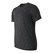 Mens New Balance Max Speed Short Sleeve Technical Tops