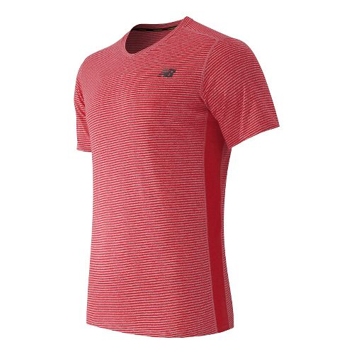 Men's New Balance�Striped Sonic Top