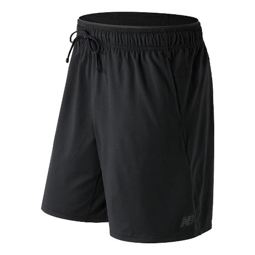 Mens New Balance N Transit Knit Unlined Shorts - Black S