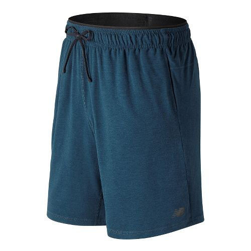 Mens New Balance N Transit Knit Unlined Shorts - Supercell M
