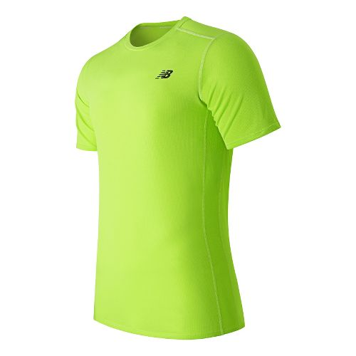 Men's New Balance�Pindot Flux Short Sleeve Top