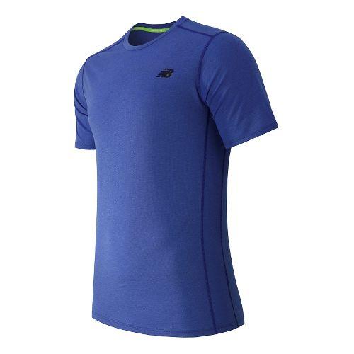 Men's New Balance�Pindot Flux Short Sleeve Top