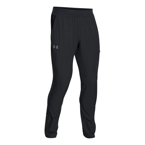 Mens Under Armour Circuit Woven Tapered Pants - Black S