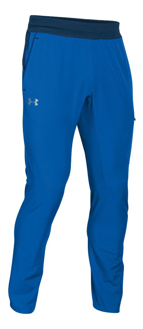 Mens Under Armour Circuit Woven Tapered Pants - Ultra Blue/Navy M-R