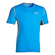 Mens Under Armour CoolSwitch Run Short Sleeve Technical Tops