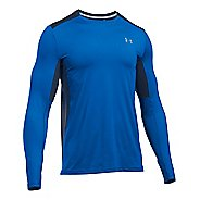 Mens Under Armour CoolSwitch Run Long Sleeve Technical Tops