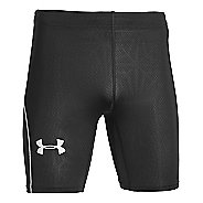 Mens Under Armour CoolSwitch Run Compression & Fitted Shorts - Black MR