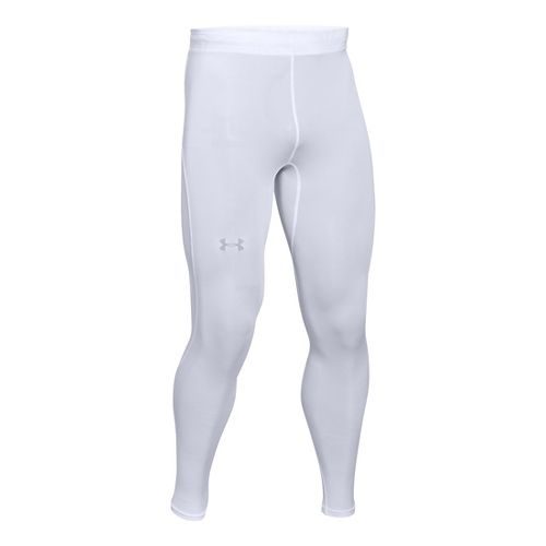 Mens Under Armour CoolSwitch Run Compression Tights & Leggings Pants - Black MR