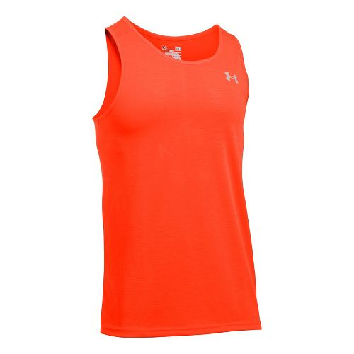 Mens Under Armour Streaker Singlet Sleeveless & Tank Tops Technical Tops - Phoenix Fire XXL ...