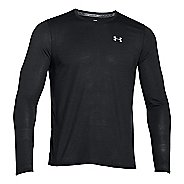 Mens Under Armour Streaker Longsleeve T Long Sleeve Technical Tops
