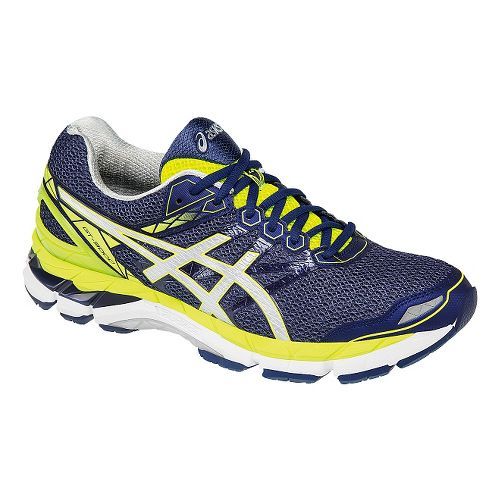 Mens ASICS GT-3000 4 Running Shoe - Blue/Yellow 10.5