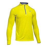 Mens Under Armour Streaker 1/4 Zip Long Sleeve Technical Tops