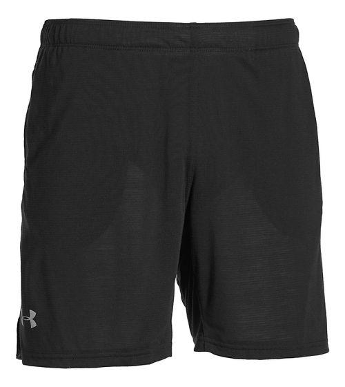 Mens Under Armour Streaker Unlined Shorts - Black XL