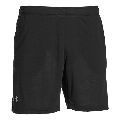 Mens Under Armour Streaker Unlined Shorts - Black XL
