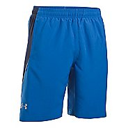 "Mens Under Armour Launch Woven 9"" Lined Shorts"