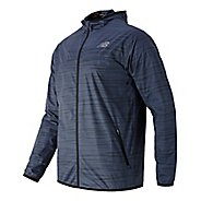 Mens New Balance Reflective Windcheater Rain Jackets