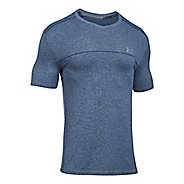 Mens Under Armour Threadborne Seamless Run Short Sleeve Technical Tops