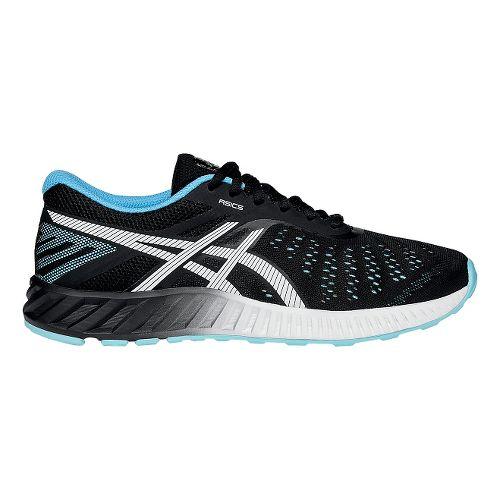 Womens ASICS fuzeX Lyte Running Shoe - Black/Turquoise 5.5