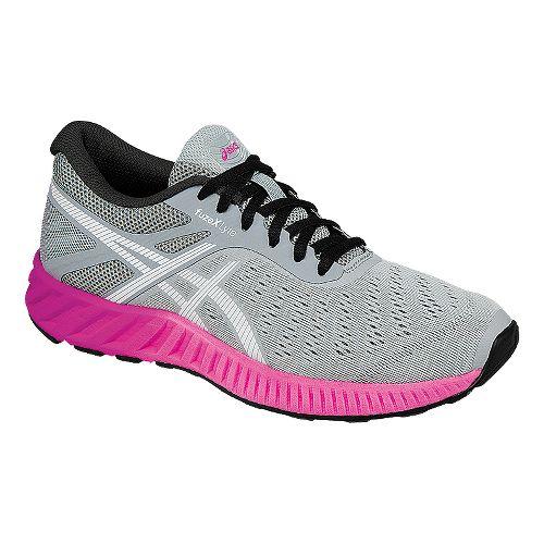 Womens ASICS fuzeX Lyte Running Shoe - Grey/Pink 8