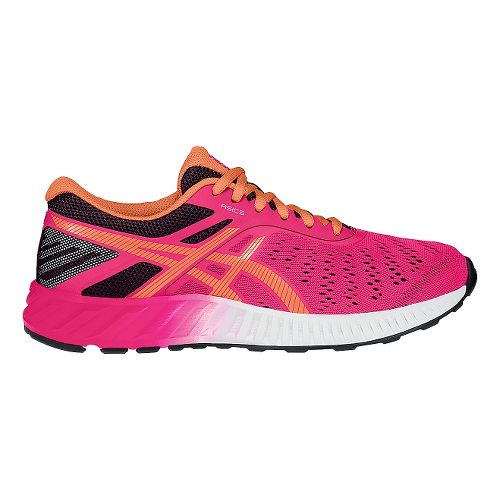 Womens ASICS fuzeX Lyte Running Shoe - Pink/Orange 12