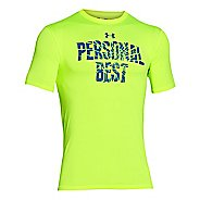 Mens Under Armour Personal Best Graphic T Short Sleeve Technical Tops