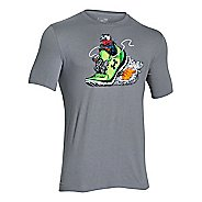 Mens Under Armour Greed For Speed Graphic T Short Sleeve Technical Tops