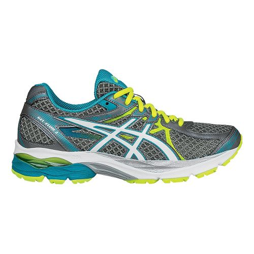 Womens ASICS GEL-Flux 3 Running Shoe - Titanium/Blue 9