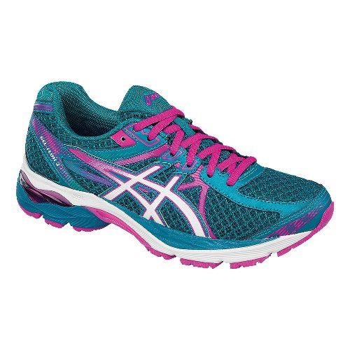 Womens ASICS GEL-Flux 3 Running Shoe - Blue/Pink 6.5