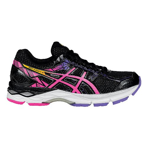 Womens ASICS GEL-Exalt 3 Running Shoe - Black/Pink 7.5