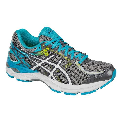 Womens ASICS GEL-Exalt 3 Running Shoe - Grey/White 10