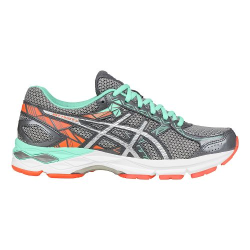 Womens ASICS GEL-Exalt 3 Running Shoe - Carbon/Silver 12