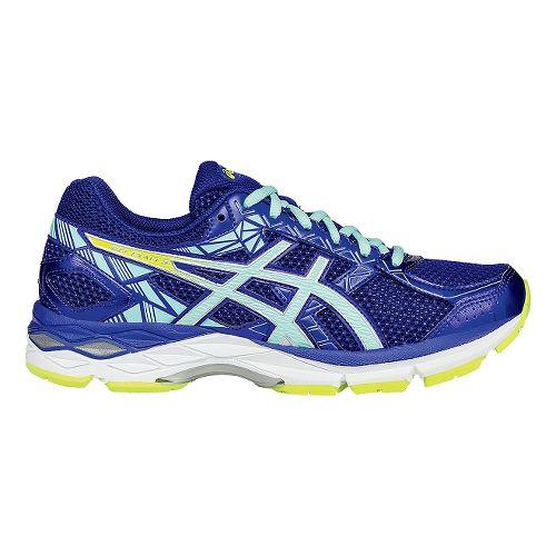 Womens ASICS GEL-Exalt 3 Running Shoe - Blue/Mint 10.5