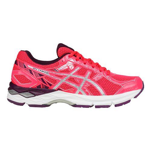 Womens ASICS GEL-Exalt 3 Running Shoe - Pink/Silver 9.5