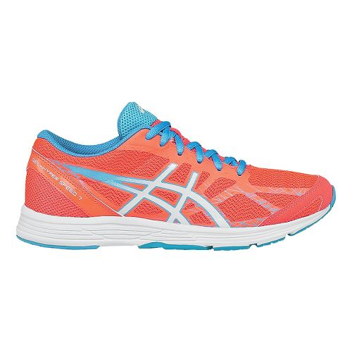 Womens ASICS GEL-Hyper Speed 7 Racing Shoe - Coral/Turquoise 12
