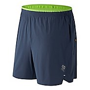 "Mens New Balance Precision Run Hybrid 6"" Lined Shorts"