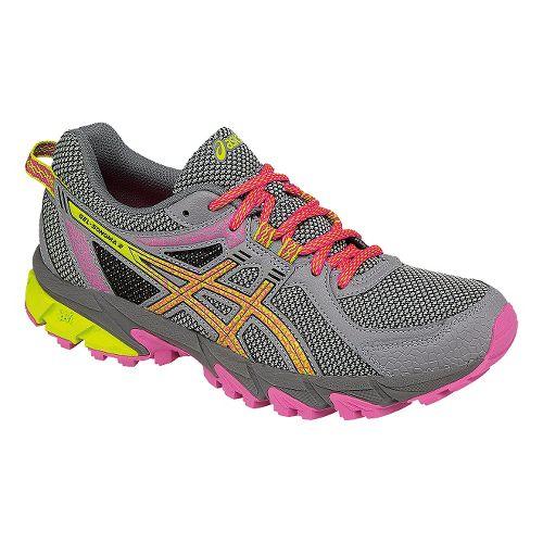 Womens ASICS GEL-Sonoma 2 Running Shoe - Grey/Pink 10