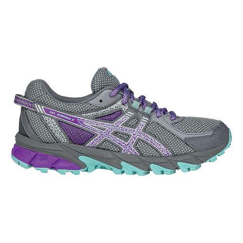 Womens ASICS GEL-Sonoma 2 Running Shoe - Grey/Purple 11