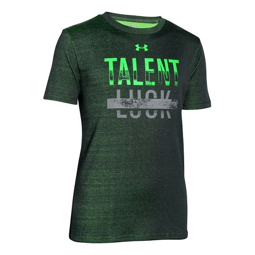 Kids Under Armour�Boys Talent Over Luck T