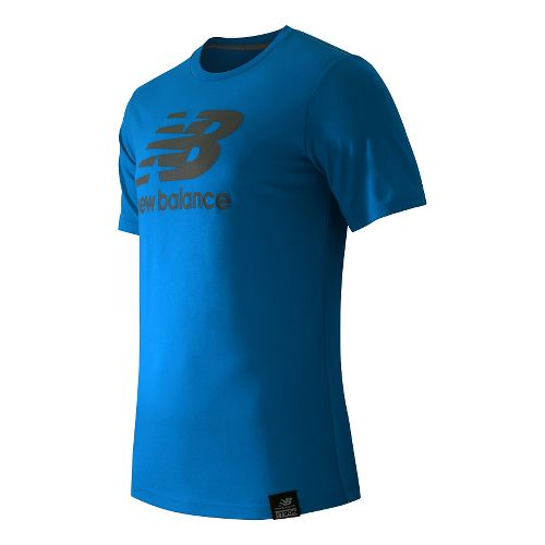 Men's New Balance�Essentials Plus Short Sleeve Logo Tee