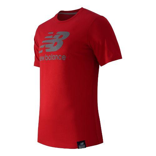 Men's New Balance�Essentials Plus Short Sleeve Logo Tee