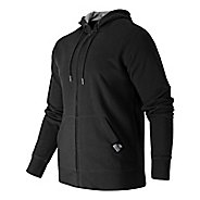 Mens New Balance Full Zip Fleece Hoodie & Sweatshirts Technical Tops