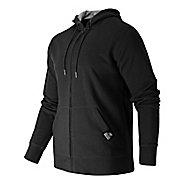 Mens New Balance Full Zip Fleece Hoodie & Sweatshirts Technical Tops