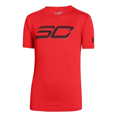 Kids Under Armour�Boys SC30 Branded T