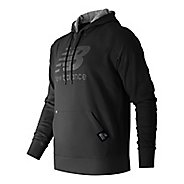 Mens New Balance Pullover Hoodie & Sweatshirts Technical Tops